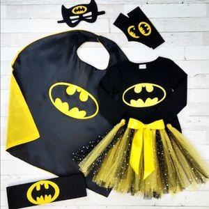 7 piece Bat-Girl Costume 2T❕